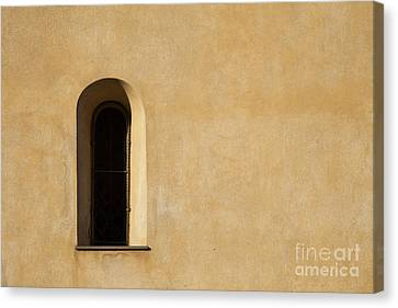 Window And Stucco Canvas Print by Charlotte Lake