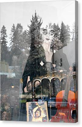 Canvas Print featuring the photograph Window Art by Holly Ethan