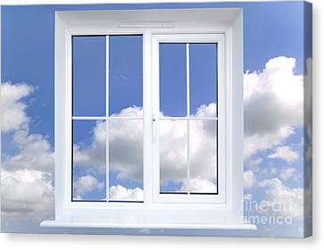 Window In The Sky Canvas Print by Richard Thomas