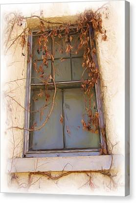 Window In Time Canvas Print by FeVa  Fotos