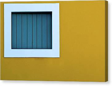 Window Canvas Print by L F Ramos-Reyes