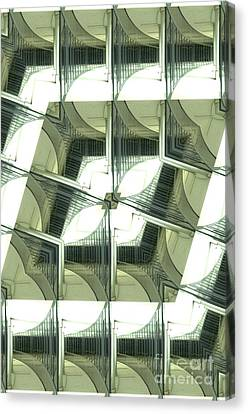 Window Mathematical 2 Canvas Print