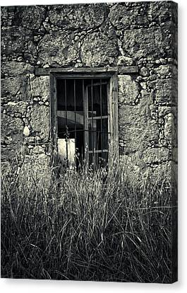 Window Of Memories Canvas Print by Stelios Kleanthous