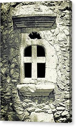 Window Of Stone Canvas Print by Joana Kruse