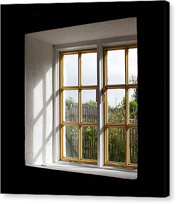 Window  Canvas Print by Semmick Photo