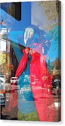 Window Shopping In Aspen Canvas Print