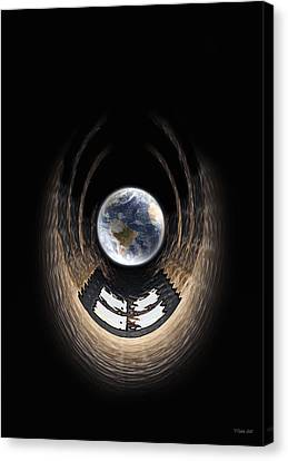 Window To My World Canvas Print by Peter Chilelli