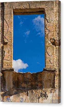 Canvas Print featuring the photograph Window To The Soul - Mexico by Craig Lovell