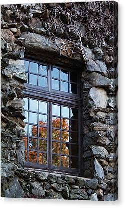 Window To The World Canvas Print by Sandi Blood