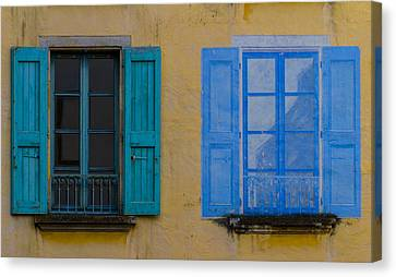 Windows Canvas Print by Debra and Dave Vanderlaan
