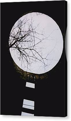 Windows To The Moon Canvas Print by Jennifer Choate