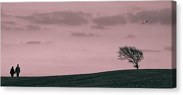 Canvas Print featuring the photograph Windswept by Justin Albrecht