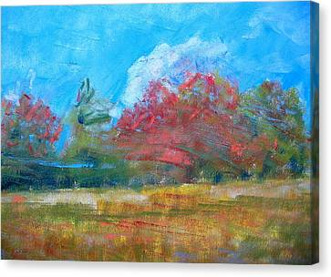 Windy Day Canvas Print by Lisa Dionne