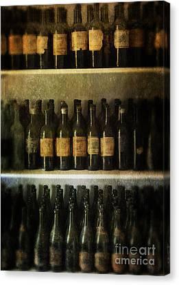 Tasting Canvas Print - Wine Collection by Jill Battaglia