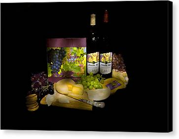 Wine Time Canvas Print by Stan Williams