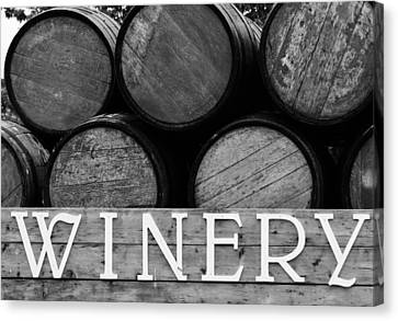 Winery  Canvas Print by Meagan  Visser
