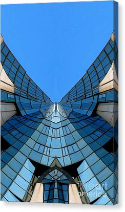Archifou Series Canvas Print - Winged - Archifou 16 by Aimelle