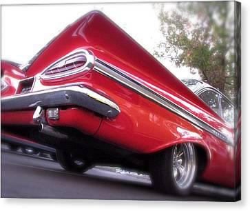 Winged Impala Canvas Print by Terry Zeyen