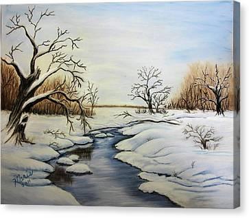 Winter 2011 Canvas Print by Maris Sherwood