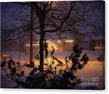 Winter Charm Canvas Print by Kathleen Pio