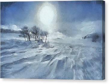 Winter Canvas Print by Gun Legler