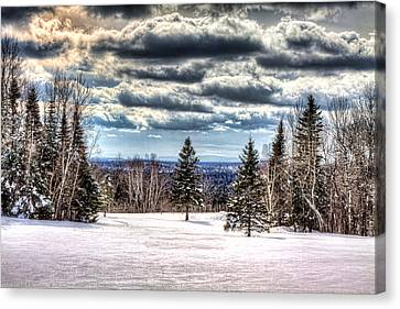 Winter Time Canvas Print by Gary Smith