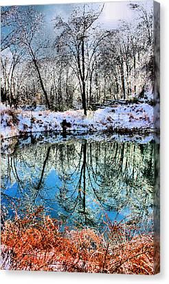 Winter Wonder Canvas Print by Kristin Elmquist