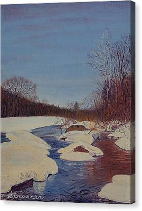 Winter Wonderland Canvas Print by Frank Strasser