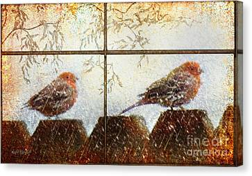 Winter's Song Canvas Print by Rhonda Strickland