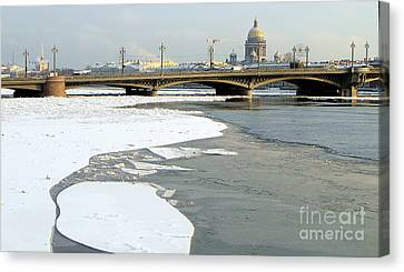 Winterwinterpeterburg Canvas Print