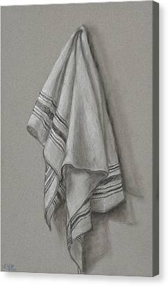 Wipe It Away Canvas Print by Michelle Wolff