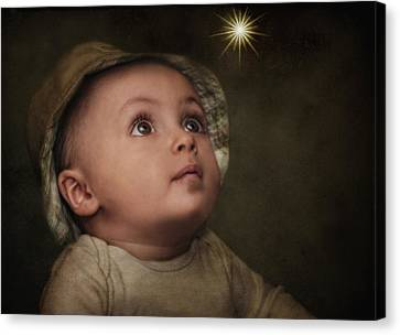 Wish Upon A Star Canvas Print by Pat Abbott