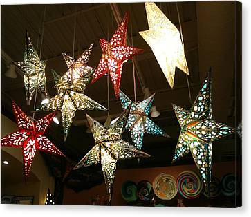 Canvas Print featuring the photograph Wish Upon A Star by Shawn Hughes