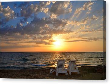 Wish You Were Here - Cyprus Canvas Print