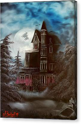 Witches Hollow 2011 Canvas Print by Shawna Burkhart