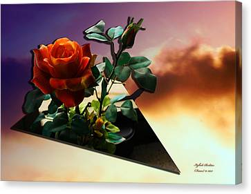 Canvas Print featuring the photograph With Love by Itzhak Richter