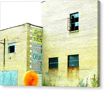 Canvas Print featuring the photograph Witness  by Lin Haring