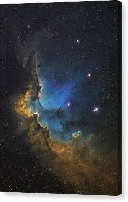 Wizard Nebula Canvas Print by Andre Van der Hoeven