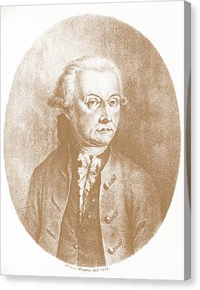 Wolfgang Amadeus Mozart, Austrian Canvas Print by Photo Researchers, Inc.