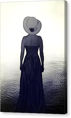 Woman At The Shore Canvas Print by Joana Kruse