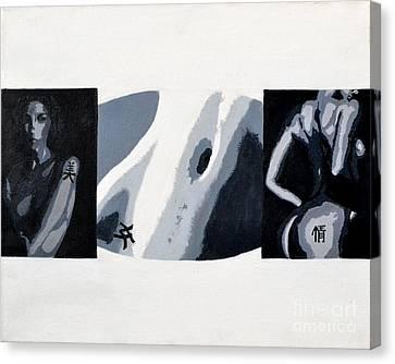 Woman Canvas Print by Timothy Eakin