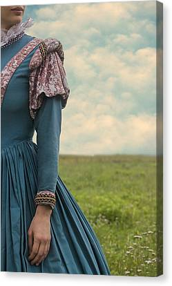 Woman With Renaissance Dress Canvas Print by Joana Kruse