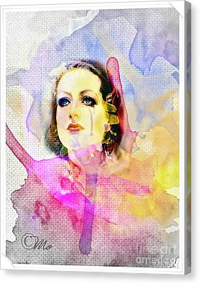 Woman's Soul Part 3 Canvas Print by Mo T