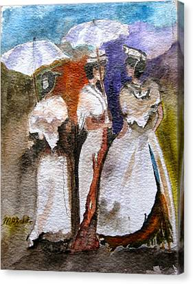 Women Of Arles Canvas Print