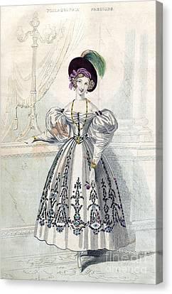 Womens Fashion, 1833 Canvas Print by Granger