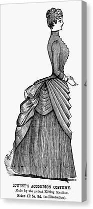 Womens Fashion, 1884 Canvas Print by Granger