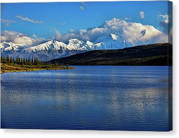 Wonder Lake Canvas Print by Rick Berk