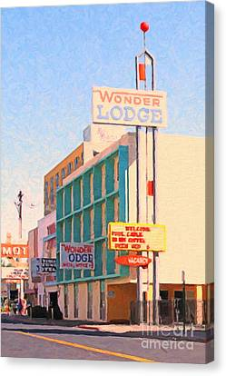 Wonder Lodge Canvas Print by Wingsdomain Art and Photography