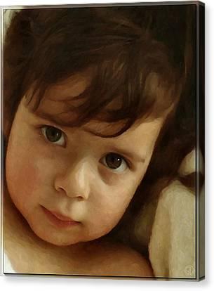 Wondering Eyes Canvas Print by Gun Legler
