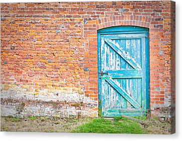 Wonky Door Canvas Print by Tom Gowanlock